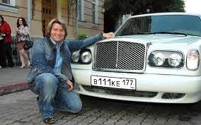 Эксклюзивный Бентли Николая Баскова.