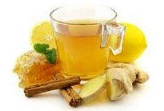Напиток из имбиря с лимоном (фото)