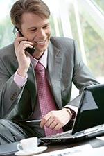 Поиск работы по телефону.