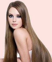 Девушки с красивыми длинными волосами