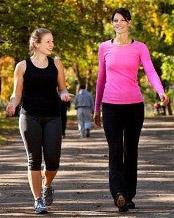 Ходьба пешком - отличная альтернатива занятиям в зале