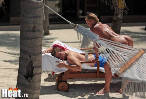 Фото обнаженной Волочковой и Баскова на отдыхе.