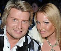 Николай Басков и Анастасия Волочкова. Фото.