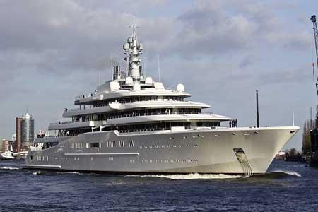 Eclipse. Яхта Абромовича. Фото.