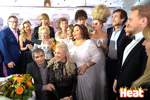 Гости на свадьбе Прохора Шаляпина фото