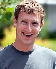 Марк Цукерберг - создатель социальной сети Facebook.