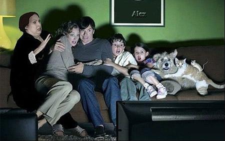 Не смотрите страшные передачи по телевизору!