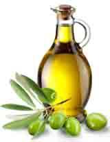 Оливковое масло для ухода за кожей.